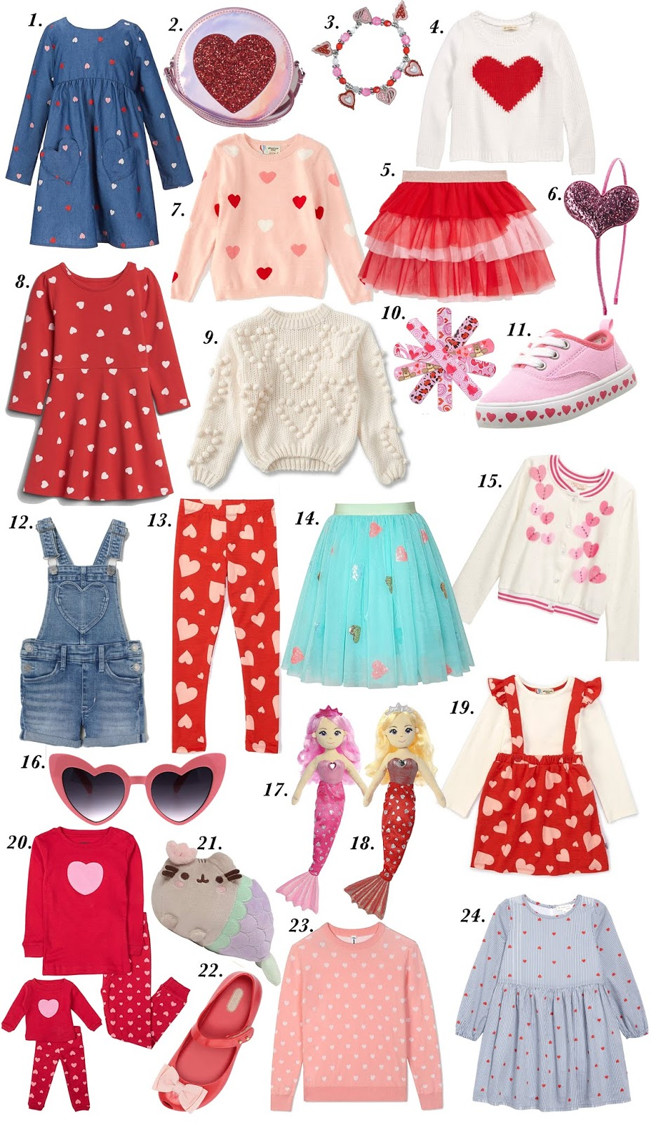 All Things Hearts! Valentine Heart Pieces for Kids - Something Delightful Blog #ValentinesDay #VDay #ValentinesDay2020 #Hearts #ValentineGifts #BeMyValentine #HeartPieces #HeartSweater