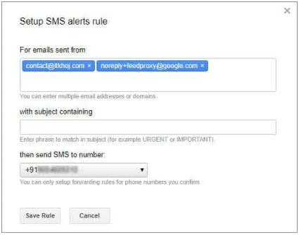 Receive Unlimited Gmail Alerts on Mobile