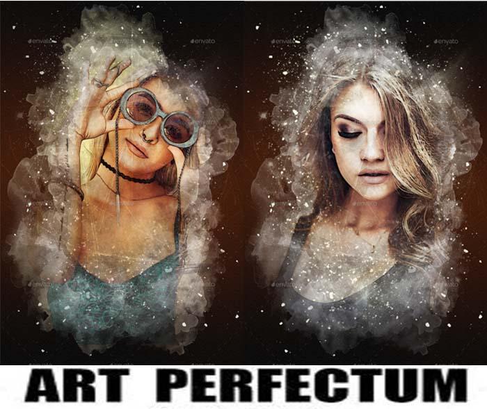 Art Perfectum PSD Photo Template