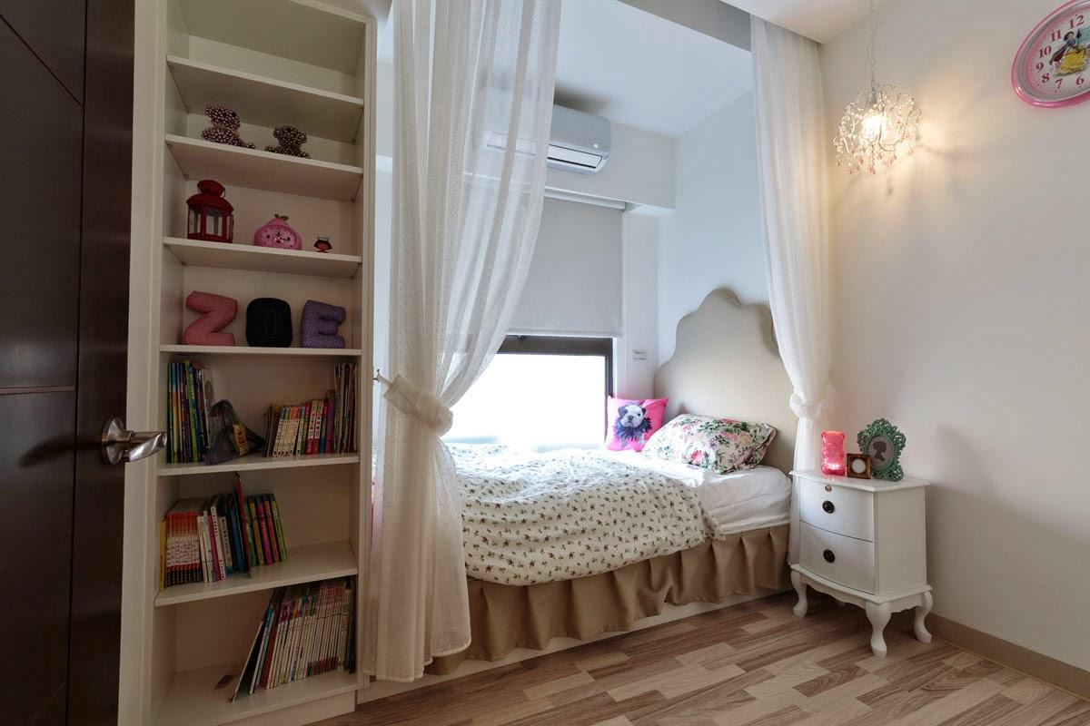 Dormitorios para peque as princesas ideas para decorar - Dormitorios para habitaciones pequenas ...