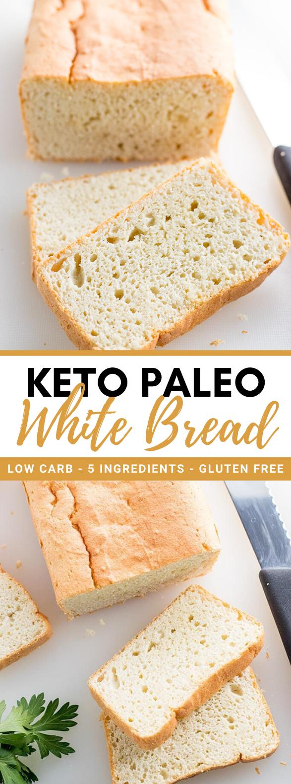 EASY PALEO KETO BREAD RECIPE – 5 INGREDIENTS #healthy #diet