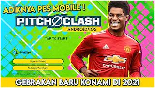 KEREN BANGET!! Game Bola Online Dari KONAMI Pitch Clash 2021 Android & iOS