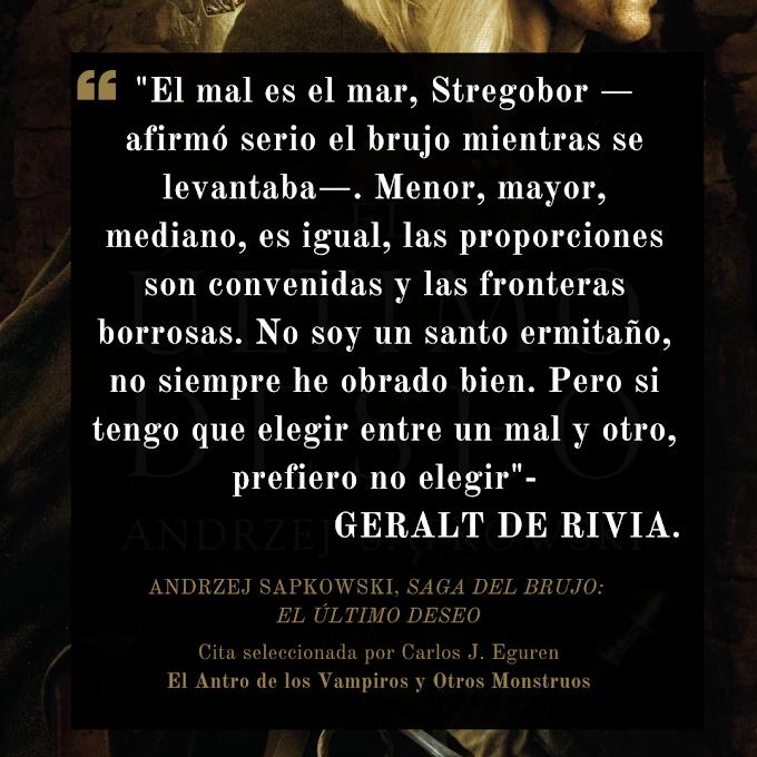 El mal menor y Geralt de Rivia