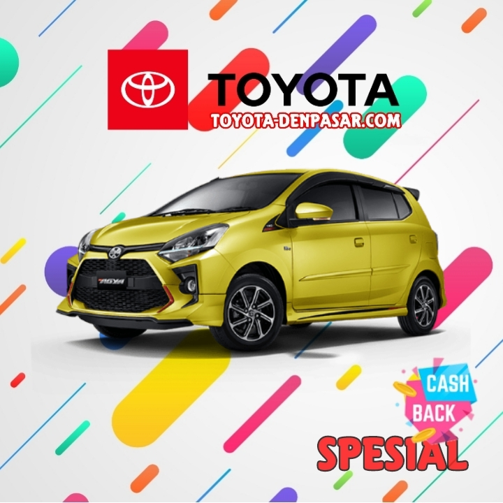 Toyota Denpasar - Lihat Spesifikasi New Agya, Harga Toyota Agya Bali dan Promo Toyota Agya Bali terbaik hari ini.