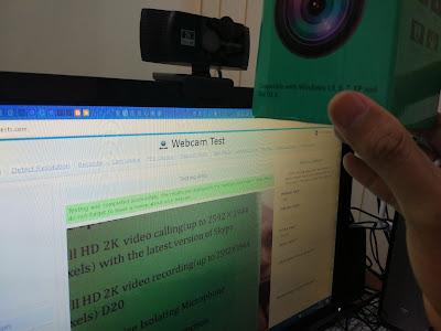 Pengujian Generic Autofocus Webcam 2K Full HD di webcamtests.com