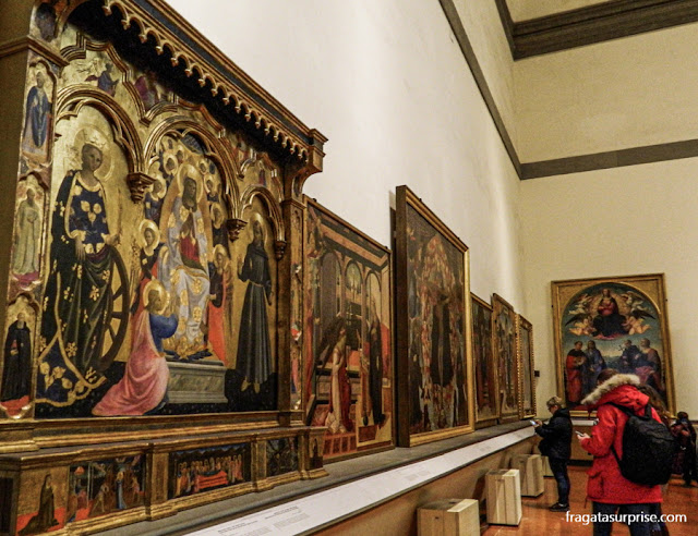 Coleção de pinturas pré-renascentistas da Galleria della Accademia, Florença