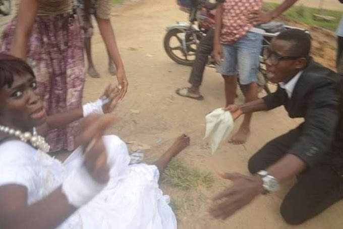 Bride Runs Out Of Wedding Reception In Delta, Says She is No Longer Interested (Photos)