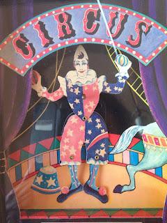 el payaso en el circo