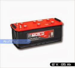 mutlu akü ağır hizmet serisi 12 volt 135 amper
