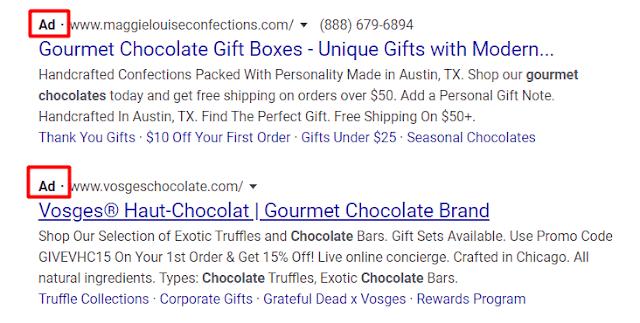 Arama reklamları