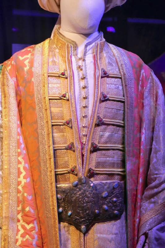Sultan costume detail Aladdin