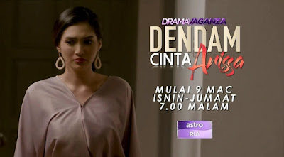 Sinopsis Drama Dendam Cinta Arissa Lakonan Atikah Suhaime dan Hisyam Hamid