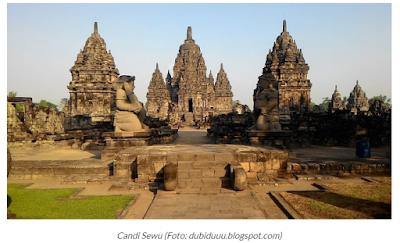 Candi Sewu Tempat Klaten Jawa Tengah
