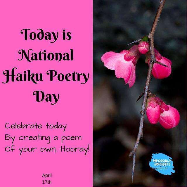 National Haiku Poetry Day Wishes