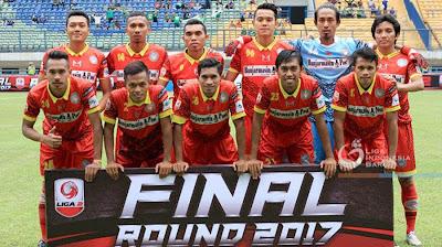 Daftar Nama Pemain Martapura FC untuk Piala Presiden 2018