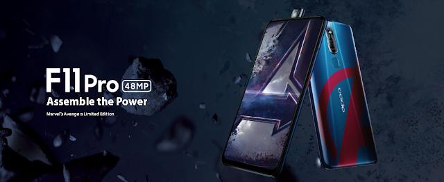 Oppo F11 Pro Avengers Limited Edition Akan Hadir di Indonesia