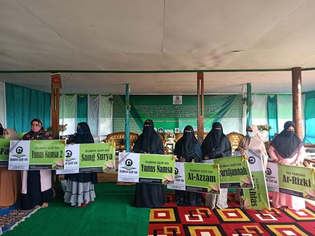Tarhib Ramadhan Sekaligus Launching 30 Rumah Quran