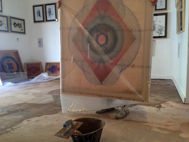 "Moneyless ""Alea Iacta Est"" Rome Solo Show Preview At 999 Contemporary Gallery. 4"
