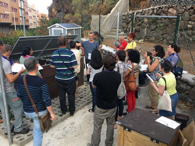 Cabildo y Fundación CIAB forman a una treintena de personas en un curso de introducción a la maestría compostadora