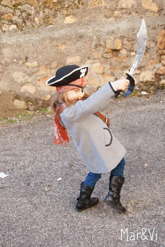 Disfraz fácil de pirata