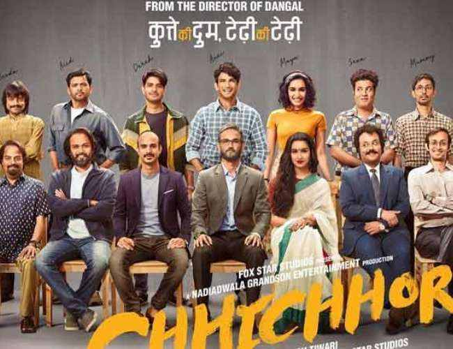 Tamilrockers Leakes Chhichhore Full Movie Download In Hindi Filmyzilla in HD For Free