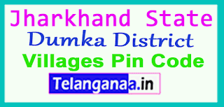 Dumka District Pin Codes in Jharkhand  State