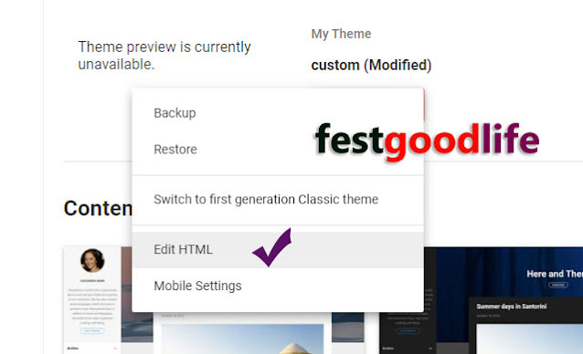 blogger footer credit removal