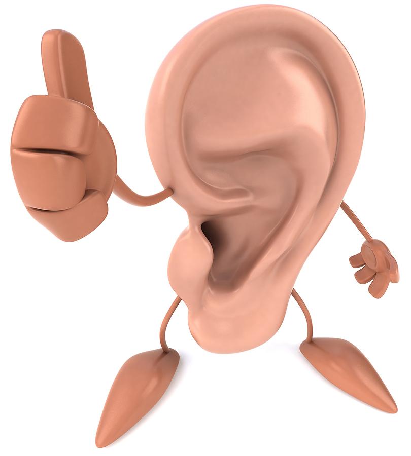 Веселые картинки ухо