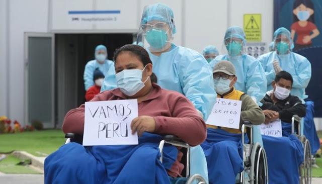 cifra de recuperados por coronavirus en Perú hoy