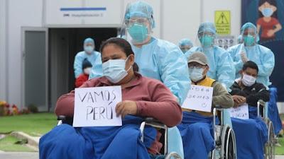 Más de 226,000 pacientes con coronavirus se recuperaron en Perú