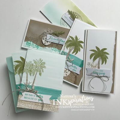 Weekly Digest | Week Ending June 5, 2021 | Nature's INKspirations by Angie McKenzie for Crafty Collaborations Kits Collection Blog Hop; Click READ or VISIT to go to my blog for details! Featuring the A Little Smile Card Kit and Timeless Tropical Stamp Set by Stampin' Up!; #justbecausecards #thankyoucards #randomactofkindnesscards #minislimlinecards #stamping #cardkits #kitscollectionbloghop  #timelesstropicalstampset #20212022annualcatalog #simplestamping #multiplecardsmadeeasy #naturesinkspirations #makingotherssmileonecreationatatime #cardtechniques #stampinup #stampinupink #handmadecards
