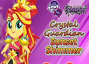 Legend of Everfree Crystal Guardian Sunset Shimmer