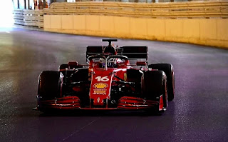 Ferrari F1 monaco 2021