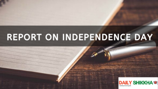report on Independence Day