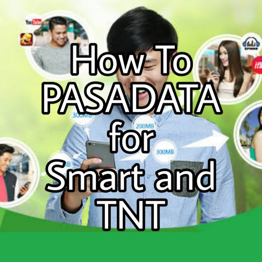 How To Share Data or Pasadata For Smart And TNT Easy Tutorial