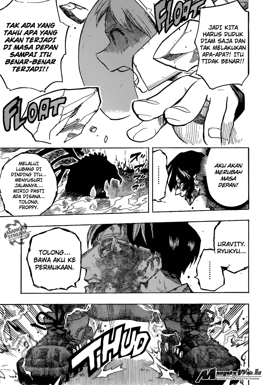 Boku no Hero Academia Chapter 157