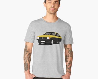 Opel Kadett C GT/E  Coupe t-paita