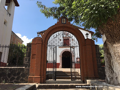 Tzintzuntzan and its Guadalupe Chapel