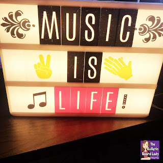 Need a little inspiration for what to say on your classroom light box? Look no farther! These sayings are perfect for music classrooms and will be sure to light up the faces of musicians in your classroom. High school, elementary, band or choir...come up. Light it up!