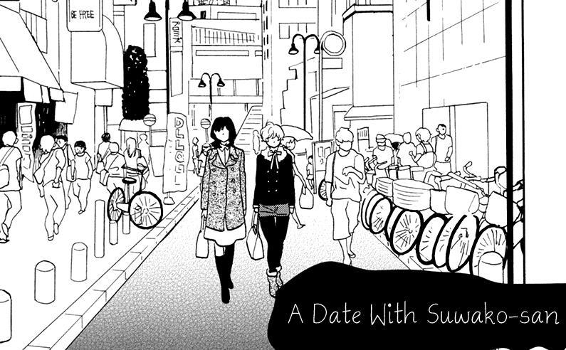 A Date With Suwako-san | Yuri Manga Pdf Download-Read