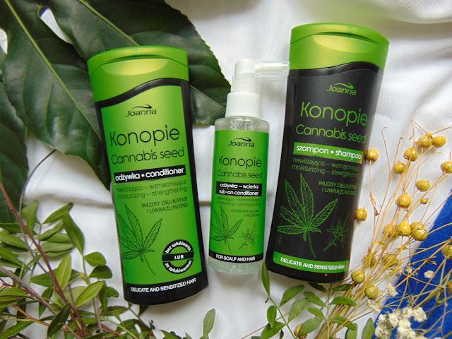 Konopie Cannabis seed - Konopna seria do włosów od Laboratorium Joanna