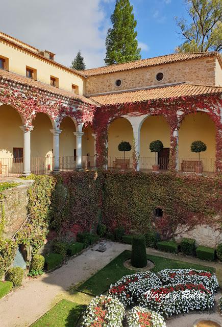 Jardines del palacio de Carlos V, Monasterio de Yuste