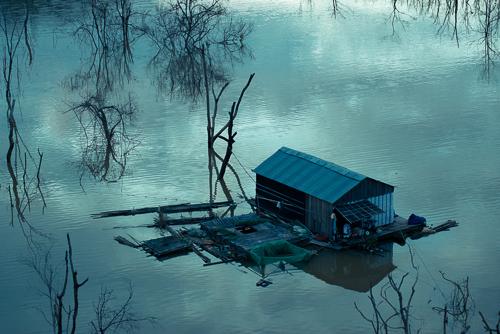 Nam Ka lake - a perfect picture of nature