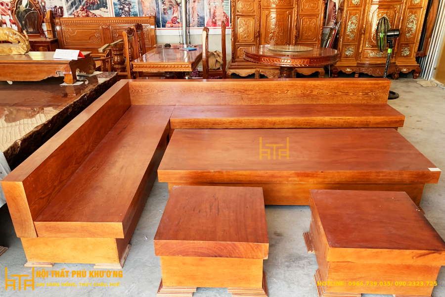 sofa góc nguyên khối tại huế giá tại xưởng