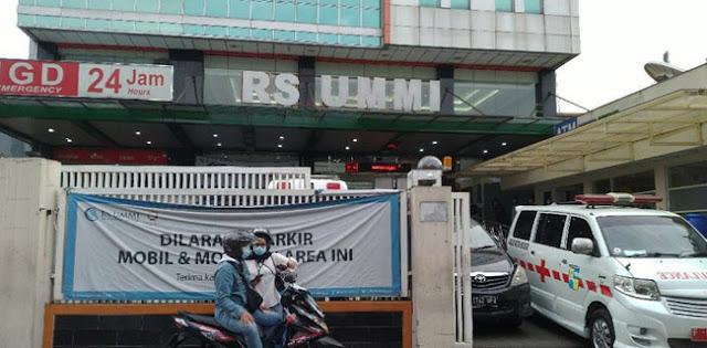 Hasil Swab 3 Perawat Habib Rizieq di RS UMMI Diketahui Hari Ini