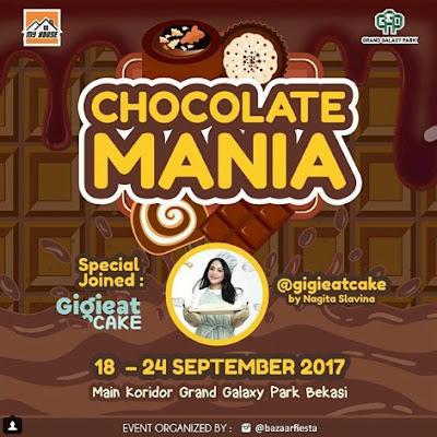 Buruan Gigi Eat Cake Hadir di Chocolate Mania Grand Galaxy Park Bekasi