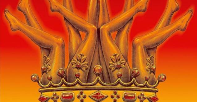Portada de 'El rey de España', nueva canción de Los Planetas, diseñada por Javier Aramburu