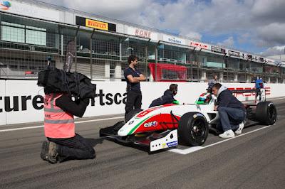 Le marocain Michael Benyahia champion 2017 sur le circuit F1 d'Hockenheim