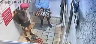 Vídeo mostra momento em que homem chega a pousada onde foi morto; assista