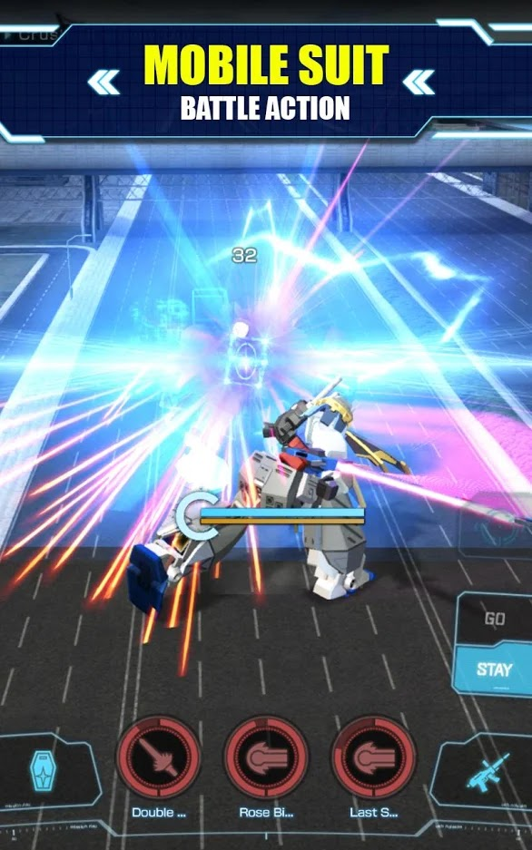 Gundam Battle: Gunpla Warfare - gameplay